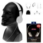 Kopfhörer HD COOL-Vibes inkl. Mikro Weiß