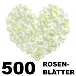 Rosenblätter weiß 500 Stück