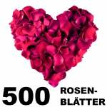 Rosenblätter bordeaux 500 Stück