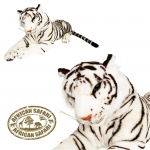 Plüsch Tiger weiß  32 cm