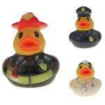 Gummi-Ente Rettungs-Team 5 cm