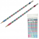 Bleistifte Matheformeln 12er Set - 19 cm