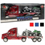 Fahrzeuge Truck mit Anhänger 36 cm