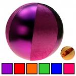 PVC Ball Metallic Velour 30 cm