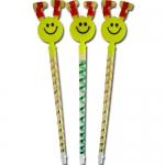 Smiley-Stab mit Luftrüssel