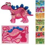 Puzzle 3D Dinos 10,5 x 7,5 cm