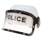 Polizeihelm mit Visier