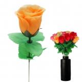 Kunstblume Bunte Rose - Heckenrose 45 cm