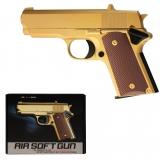 Softair Pistole Metall Gold 6mm