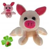 Plüsch Schwein / Glücksschwein Reiner 17 cm