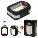 Taschenlampe Lichtkraft HP Arbeitslampe COB grau