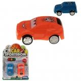 Fahrzeuge 2er Set Funny Racer 12 x 17 cm