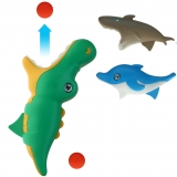Fangbecher / Fangspiel 23 cm Seetiere