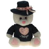Plüsch Bär mit Hut Belinda  30 cm