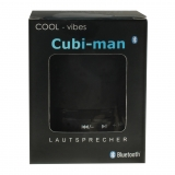 Lautsprecher & Radio cubi-man 2.0  bluetooth -schwarz-