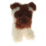Plüsch Terrier-Hund Jacky 18 cm