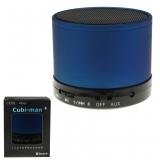 Lautsprecher + Radio  cubi-man 2.0 blau bluetooth
