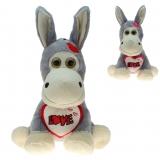 Plüsch Esel mit Herz Eric 40 cm