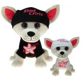 Plüsch Hund Chihuahua Bad Girl 20 cm