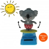 Solar-Figur Wackelfigur Koala 10 cm