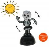 Solar-Figur Wackelfigur dancing skeleton 10 cm