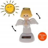 Solar-Figur Wackelfigur dancing angel 10 cm