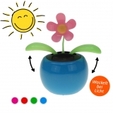 Solar-Figur Wackelfigur dancing flower 10 cm