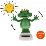 Solar-Figur Wackelfigur dancing frog 10 cm