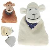 Wärmekissen Schaf mit Keramikfüllung, weiß