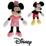 Plüsch Disney Mickey und Minnie Mouse  Sortiment Gr. 5 Gift Quality