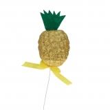 Dekoartikel / Abschießer Ananas 13,5 cm