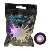Flash Knete im Beutel mit LED Springknete  13,5 x 9,5 cm