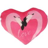 Plüsch Herz Flamingo-Love Pink 20 cm