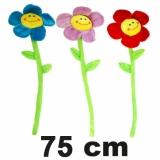 Plüsch Blume mit Gesicht 75 cm
