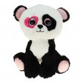 Plüsch Panda mit Herzauge Valentin 25 cm