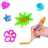 Deko 3D Gelstifte 4er Set, Neon