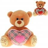 Trendy-Bär mit Herz, 2-fach 25 cm