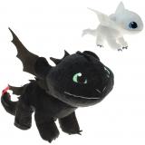 Plüsch Dragons Ohnezahn und Tagschatten