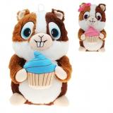 Plüsch Hamster mit Cupcake Hugo & Helga 40 cm