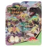 Dinosaurier Set Dinosaurier Safari  20 x 25 cm