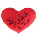 Plüsch Herz Ich liebe Dich Rot 25 cm
