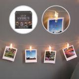 LED Lichterkette Wäscheklammer