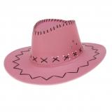 Cowboyhut Classic rosa
