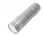 Taschenlampe Lichtkraft Alu Lite Silber  9 LEDs