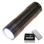Taschenlampe in Box Lichtkraft Alu Lite Titan 9 LEDs