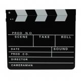 Filmklappe / Regieklappe 30 x 26 cm