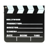 Filmklappe / Regieklappe 20 x 18 cm