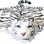 Tigerfell Weiß