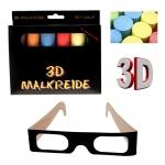 3D Kreide-Set inkl. Brille