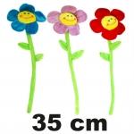 Plüsch Blume mit Gesicht 35 cm